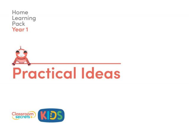 thumbnail of Year 1 Practical Ideas